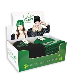 Lucky Knits Bling Beanie 24PC