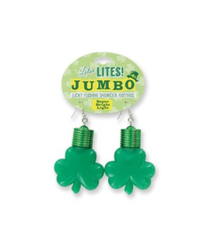 St. Patricks Jumbo Light Earrings 24PC
