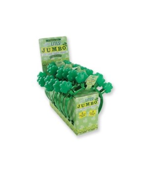 St. Pats Jumbo Flashing Headband 24PC