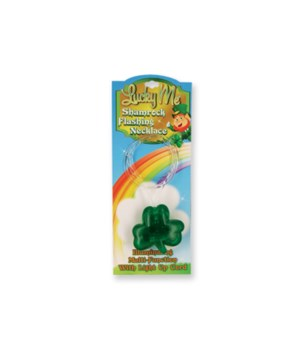 Light Up Flashing Shamrock 24PC