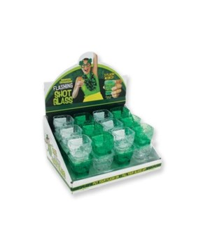 St. Pats Light Up Shot Glass 24PC
