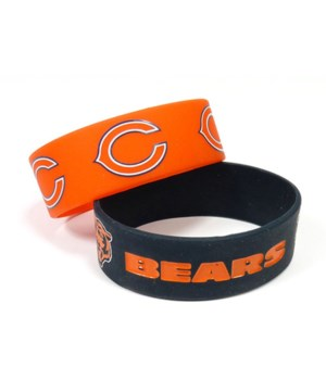 2PK SILICONE BRACELET - CHIC BEARS