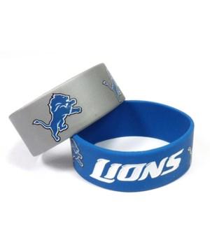 2PK SILICONE BRACELET - DET LIONS