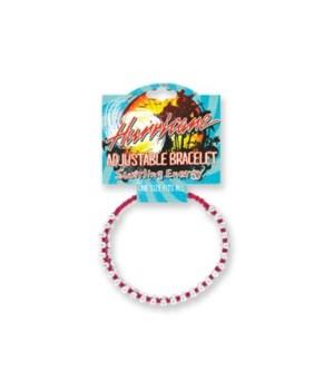 Hurricane Adj. Bracelet 24pk