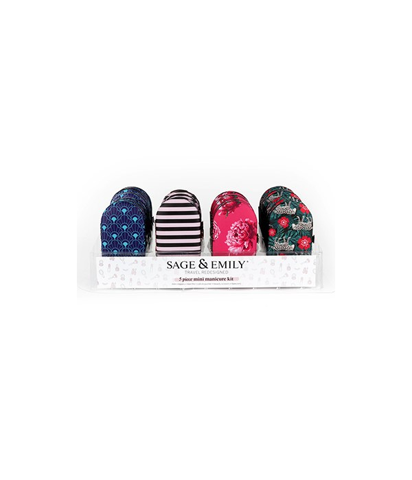 5 Piece Mini Manicure Set 24PC
