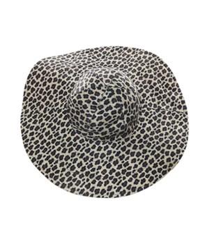 Cheetah/Red Reversible Hat 3PC