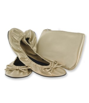 Foldable Flat w/Pouch Champagne Small 2P