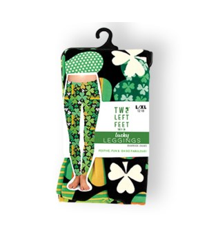 S/M Shamrock Shake Leggings 3PC