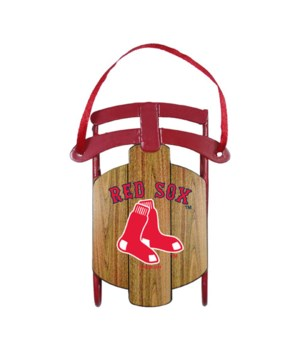 SLED ORNAMENT - BOS RED SOX