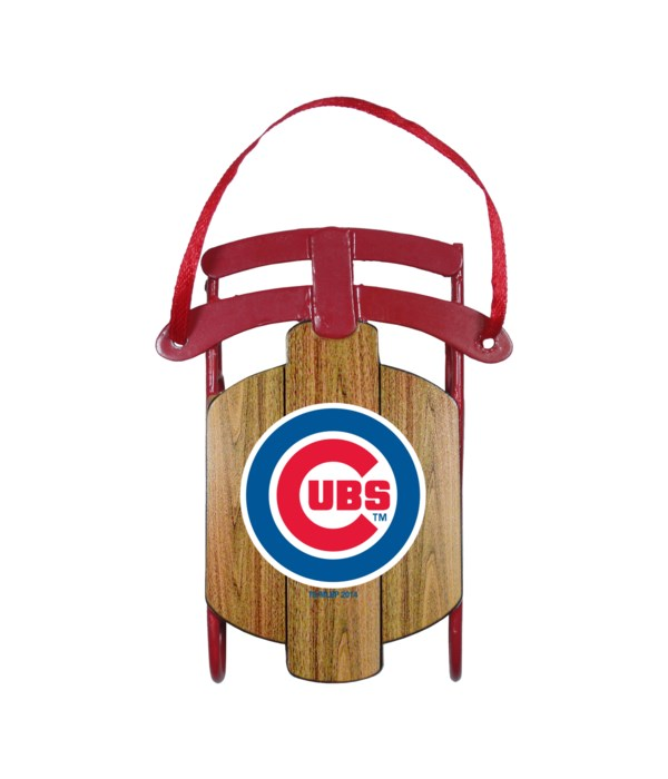 SLED ORNAMENT - CHIC CUBS