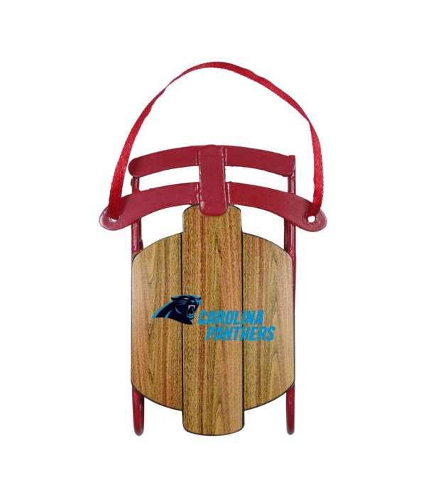 SLED ORNAMENT - CAR PANTHERS