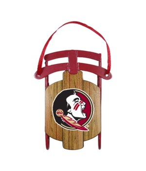 SLED ORNAMENT - FLORIDA STATE