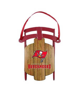 SLED ORNAMENT - TAMPA BAY BUCS
