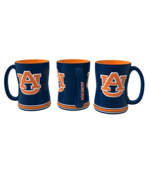 SCULPTED MUG - AUBURN TIGERS