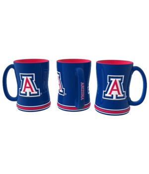 SCULPTED MUG - ARIZ WILDCATS