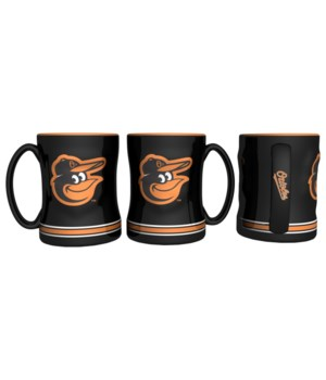 SCULPTED MUG - BALT ORIOLES