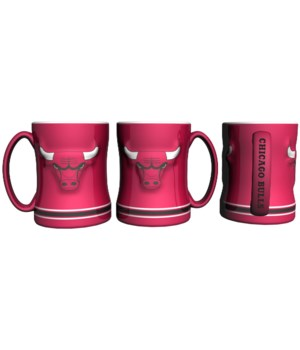 SCULPTED MUG - CHIC BULLS