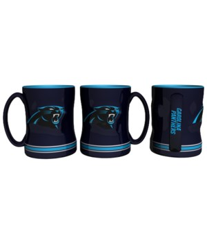 SCULPTED MUG - CAR PANTHERS