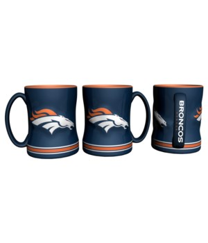 SCULPTED MUG - DEN BRONCOS