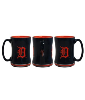SCULPTED MUG - DET TIGERS