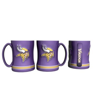 SCULPTED MUG - MINN VIKINGS