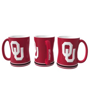 SCULPTED MUG - OKLAHOMA SOONERS