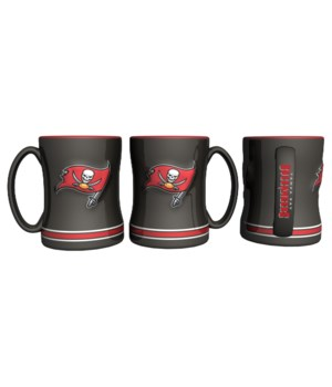 SCULPTED MUG - TAMPA BAY BUCS