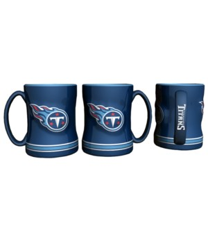 SCULPTED MUG - TENN TITANS