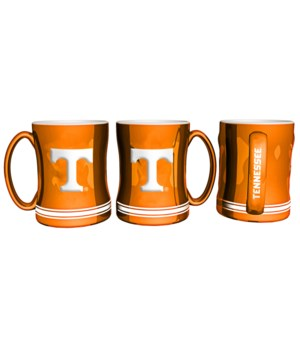 SCULPTED MUG - TENN VOLS