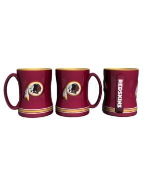 SCULPTED MUG - WASH REDSKINS