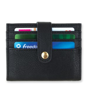 Black ScanSafe® Credit Card Caddy 4PC