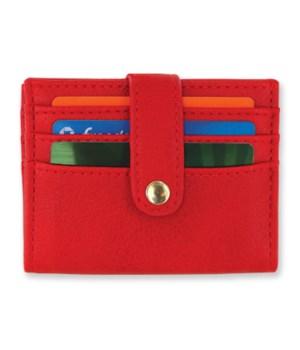 RFID safe Cardholder 4PC-RED