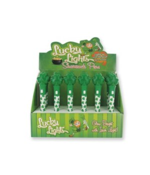 Flashing Shamrock Pen 24PC Display