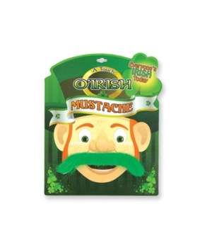 Irish Mustache 24PC Asst