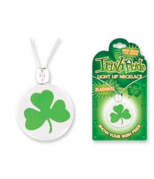 Irish Imprinted Light Necklace 24PC