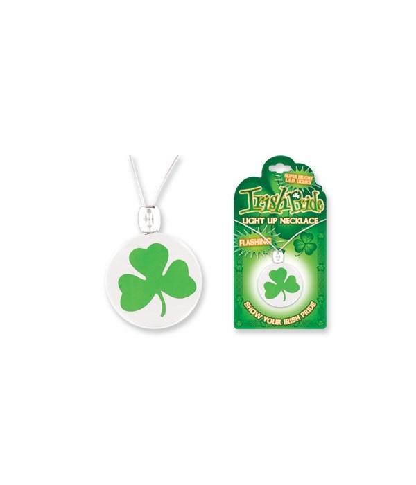 Irish Imprinted Light Necklace 24PC