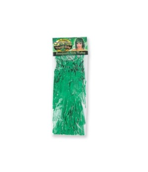 St. Pats Metallic Green Wig 24PC