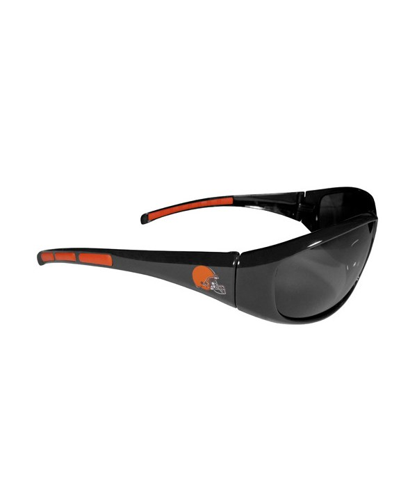WRAP SUNGLASS - CLEV BROWNS