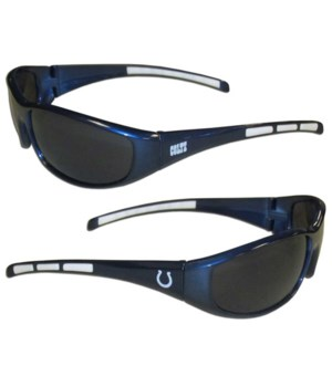 WRAP SUNGLASS - IND COLTS