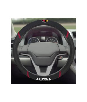 STEERING WHEEL COVER - ARIZ CARDINALS