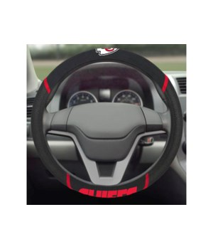 STEERING WHEEL COVER - KC CHIEFS