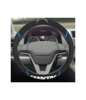 STEERING WHEEL COVER - LA CHARGERS