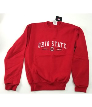 OSU Hood Sweat Youth Red
