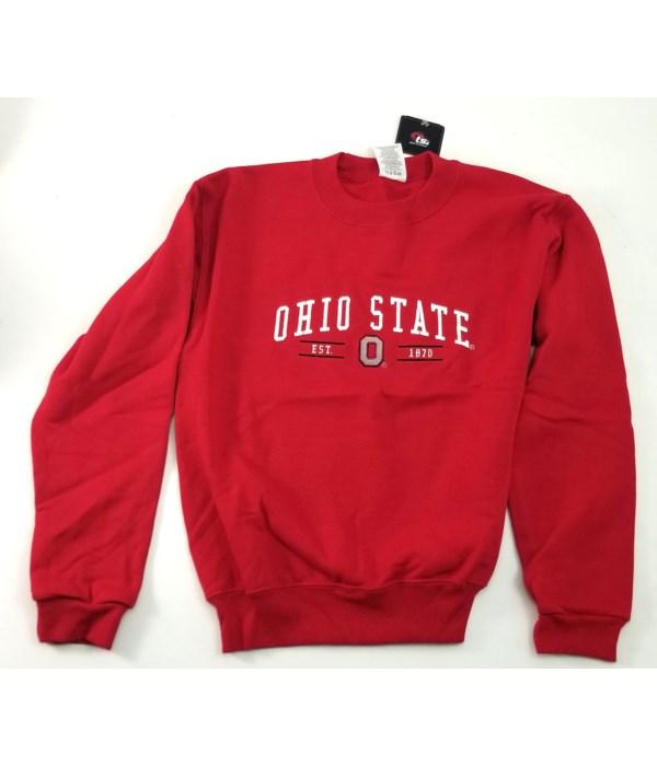OSU Hood Sweat Youth Red
