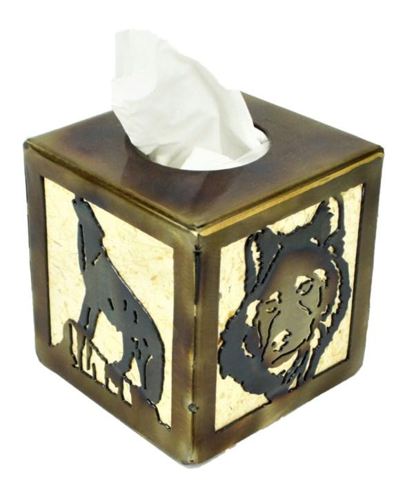 WOLF Tissue Box