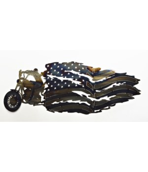 HARLEY RIDER TATTERED FLAG 25""