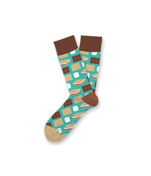 S'Mores S/M Socks 4PC
