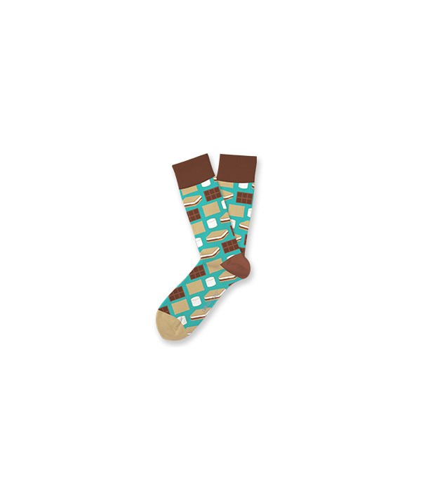 S'Mores S/M Socks 4PC