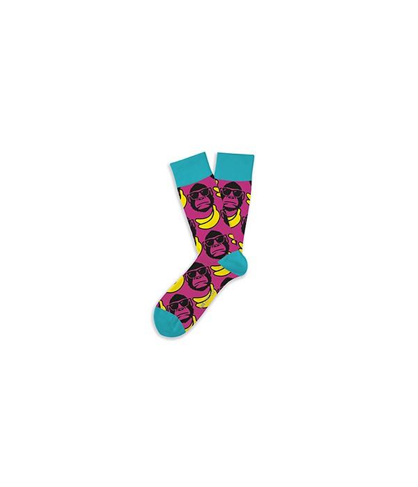 Funky Monkey S/M Socks 4PC