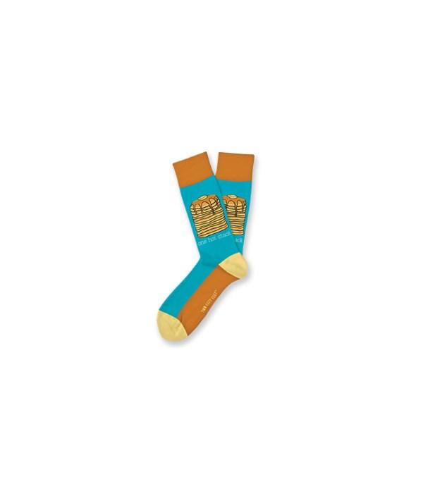*One Hot Stack M/L Socks 4PC